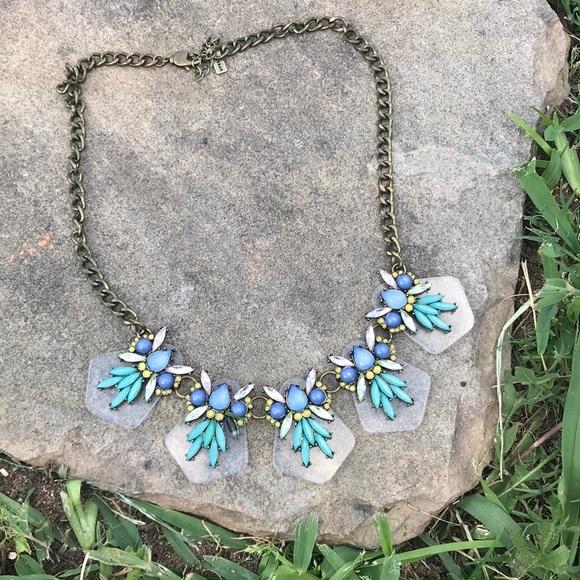 BaubleBar Jewelry - Baublebar blue stone statement necklace